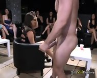 Another Male Stripper Joins The Party And Make The Girls Feast On Him