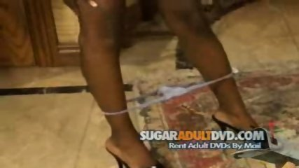 Ebony Bitch Strips for Movie Director - scene 9