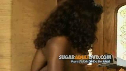 Ebony Bitch Strips for Movie Director - scene 10
