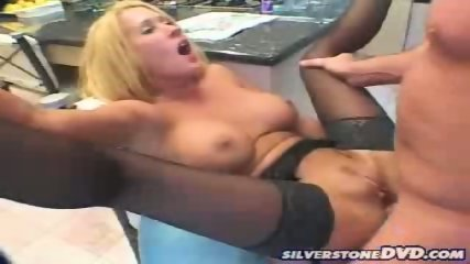 Blondes in Black Stockings gettin nailed - scene 9