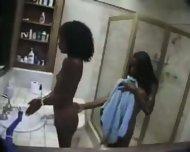 Beautiful ebony Lesbians - scene 1