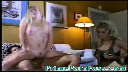 Hot Blonde gets herself fucked while being watched - scene 5