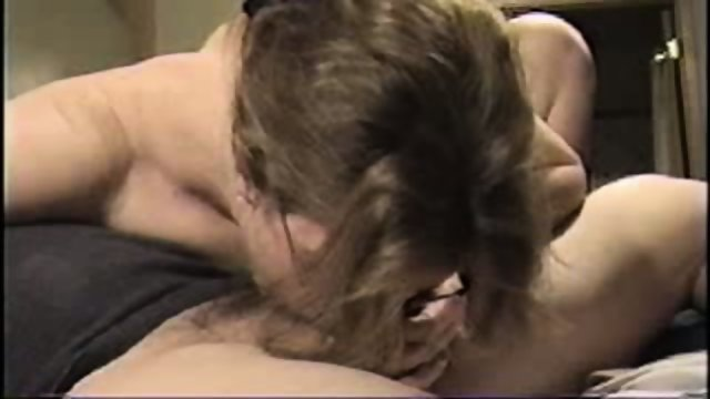 MILF sucking a dick
