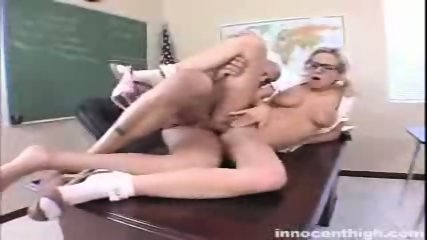 Busty Hillary Scott gets her tight pussy rammed by the principal - scene 11