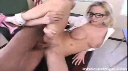 Busty Hillary Scott gets her tight pussy rammed by the principal - scene 6