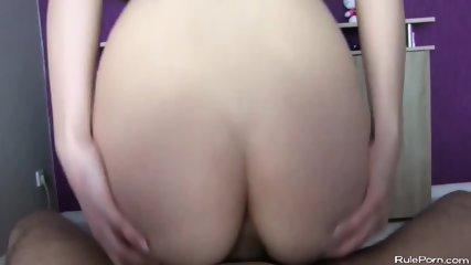 German Blond Girl Ass Fuck And Creampie - scene 6