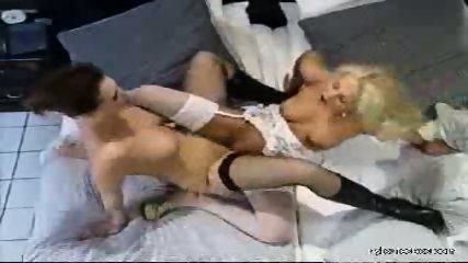 Sexual adventures of a nylon lesbian babe - scene 12