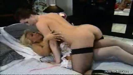 Sexual adventures of a nylon lesbian babe - scene 3