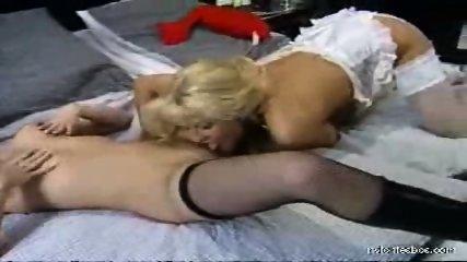 Sexual adventures of a nylon lesbian babe - scene 5