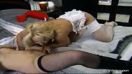 Sexual adventures of a nylon lesbian babe - scene 6
