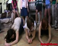 College Teen Initiation With Sorority Amateur