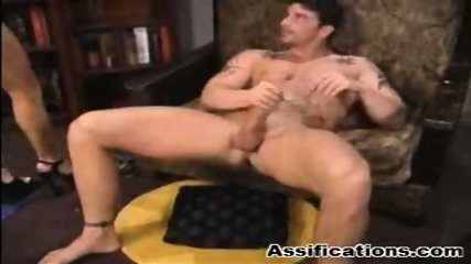 Blonde babe gets an extreme ass fucking and a nasty facial - scene 9
