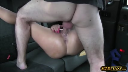 A Messy Facial For A Pretty Customer After Getting Fucked - scene 5