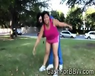 Old Perv Seduces A Chunky Asian Beauty In The Park
