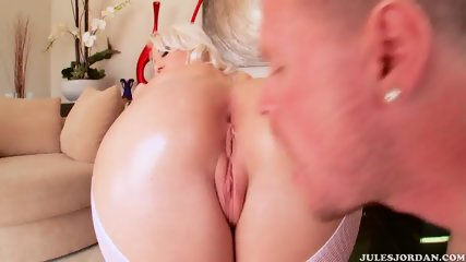 Anal Fuck With Hot Blonde In Lingerie - scene 4