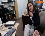 Sexy Business Lady Banged By Pawnkeeper For A Plane Ticket