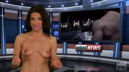Naked Babes Are Kinky TV Presenters - scene 11