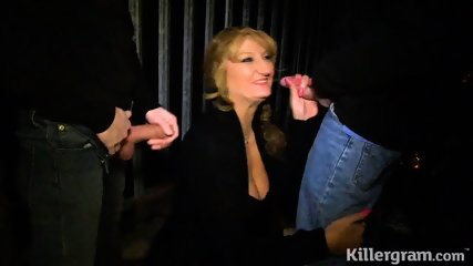 Cougar Likes To Suck Dicks - scene 3