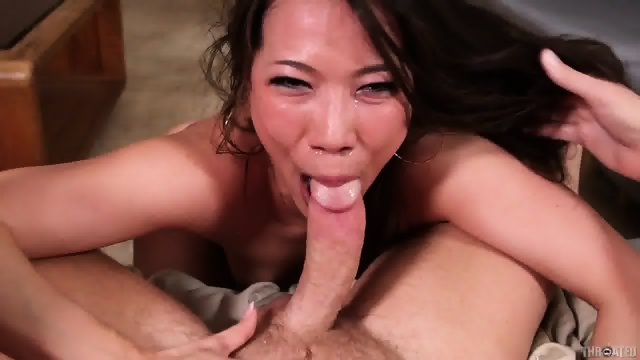 Asian Chick Banged In Face
