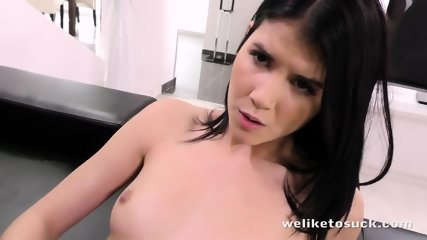 Massive Cock In Her Pussy And Mouth - scene 7