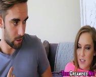 Teens Cunt Oozes Sperm