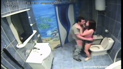 Couple caught by hidden camera in hotels bathroom pt2 - scene 8