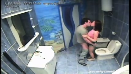 Couple caught by hidden camera in hotels bathroom pt2 - scene 9