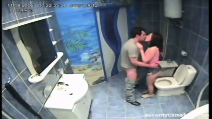 Couple caught by hidden camera in hotels bathroom pt2 - scene 10
