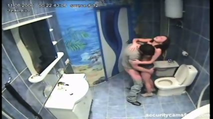 Couple caught by hidden camera in hotels bathroom pt2 - scene 11