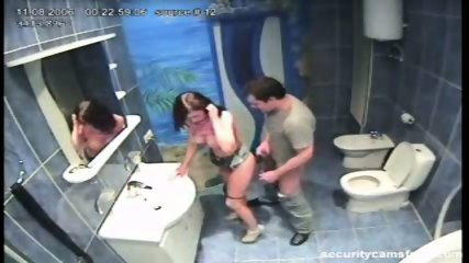 Couple caught by hidden camera in hotels bathroom pt2 - scene 12