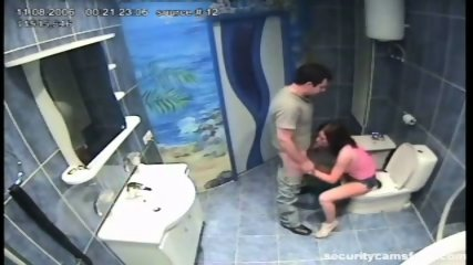 Couple caught by hidden camera in hotels bathroom pt2 - scene 3