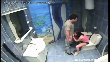 Couple caught by hidden camera in hotels bathroom pt2 - scene 6