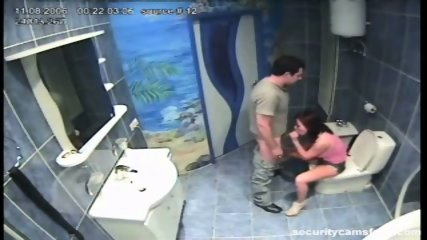 Couple caught by hidden camera in hotels bathroom pt2 - scene 7