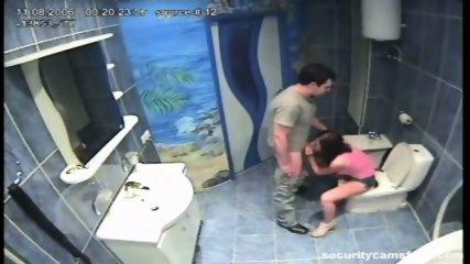 Couple caught in public bathroom pt1 - scene 10