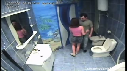 Couple caught in public bathroom pt1 - scene 2