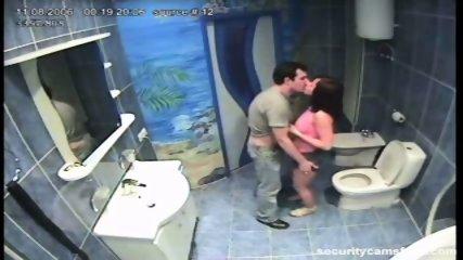 Couple caught in public bathroom pt1 - scene 3