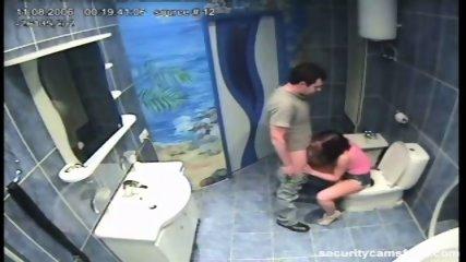 Couple caught in public bathroom pt1 - scene 5