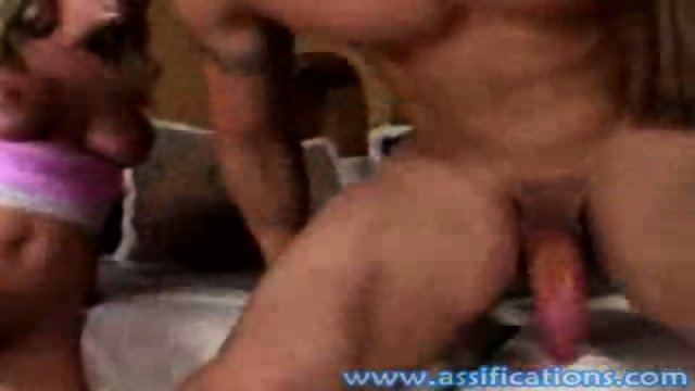 This sexy babe gets a hard and rough ass pounding and a creamy facial