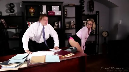 Amazing Sex On Desk - scene 1