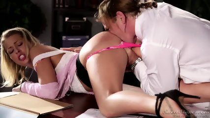 Amazing Sex On Desk - scene 3