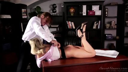 Amazing Sex On Desk - scene 5