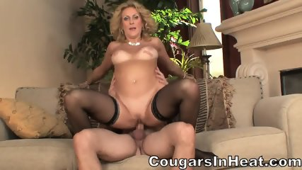 Horny Housewife Takes Dick