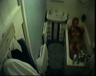 Wife bath spycam