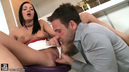Juicy Pussy Full Of Cum - scene 2