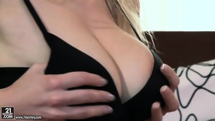Blonde Fucked In Tits And Cunt - scene 1