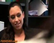 Hot Lesbians Office Sex - scene 3