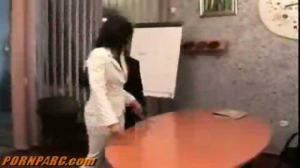 Hot Lesbians Office Sex - scene 7