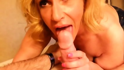 Milf Cock Sucking In Point Of View - scene 2
