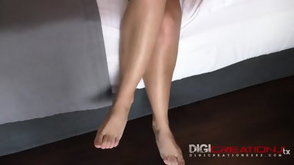 Elated Chick Rides Black Dong - scene 2