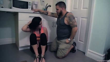 Quickie In Bathroom - scene 1